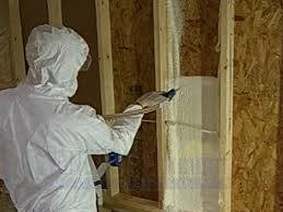 walls then you will want to inject foam from the outside to fill