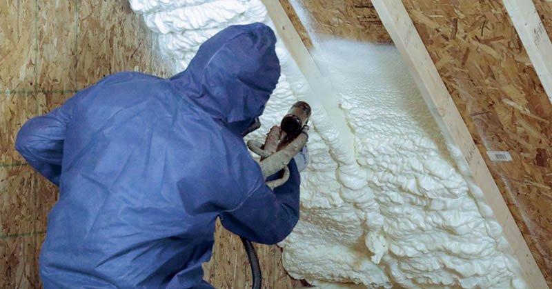 Pole Barn Spray Foam Insulation